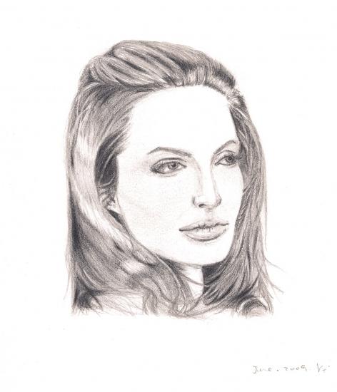 Angelina Jolie by silavindelakin